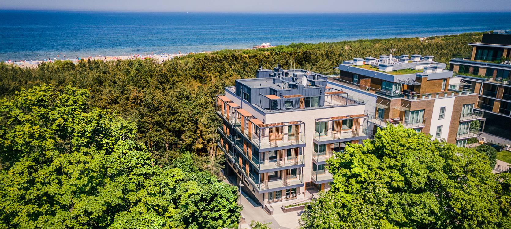 Apartamenty wakacyjne Wave House we Władysławowie